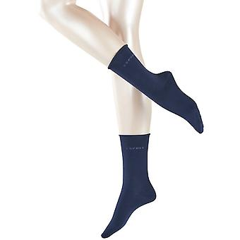 Esprit Basic Pure 2 Pack Socken - Marine Navy