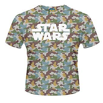 Star Wars - Boba Fett Camo (colorant Sub) T-Shirt
