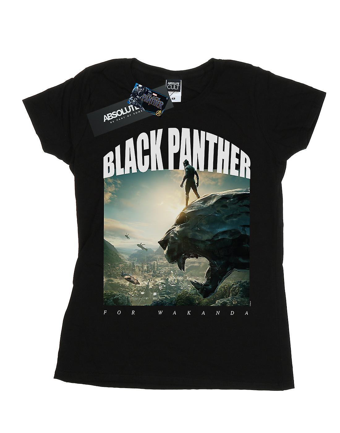 Marvel Women's Black Panther For Wakanda T-Shirt