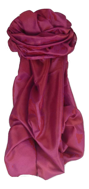 Varanasi Silk Long Scarf Heritage Range Balaji 5 by Pashmina & Silk
