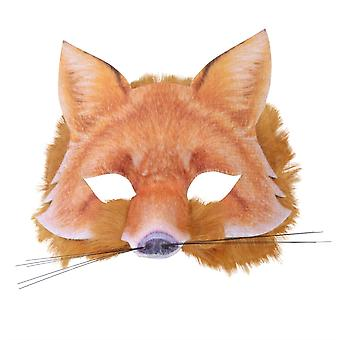 Fox kasvot maski realistinen turkis