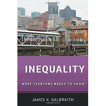 Inequality What Everyone Needs to Know