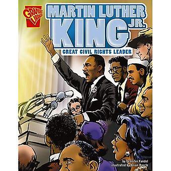 Capo di diritti civili Martin Luther King JR grande (libreria grafica: grafiche Biografie)