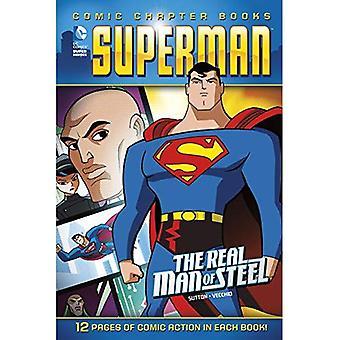 Superman: Äkta mannen av stål (DC Comic kapitel böcker)