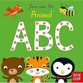 Animal ABC (Jannie Ho's ABC) [Board book]
