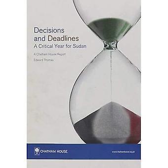 Besluiten en Deadlines: een cruciaal jaar voor Soedan (Chatham House verslag)