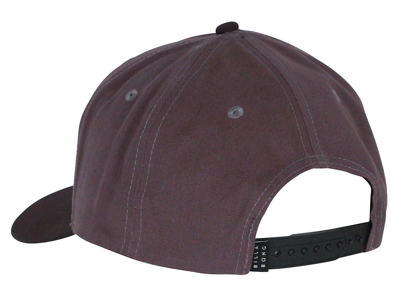 Billabong Men's Snapback Cap ~ Stacked charcoal