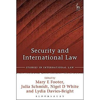 Security and International Law (Studies in International Law)