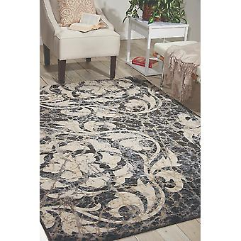 Maxell MAE10 Ivory Charcoal  Rectangle Rugs Modern Rugs
