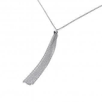 Cavendish Ranskan hopea Tassle Drop kaulakoru