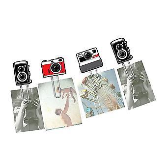 Retro Clipit Cameras Picture Hangers