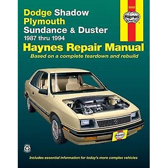 Dodge Shadow/Plymouth Sundance and Duster Automotive Repair Manual - 1