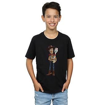 Disney Boys Toy Story 4 Woody And Forky T-Shirt