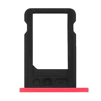 Nano-SIM card tray replacement part for Apple iPhone 5C - Pink