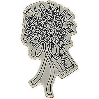 Spellbinders Flower Bouquet Stamp