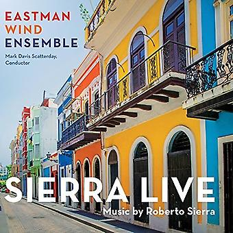 Eastman Wind Ensemble - Sierra Live [CD] USA import
