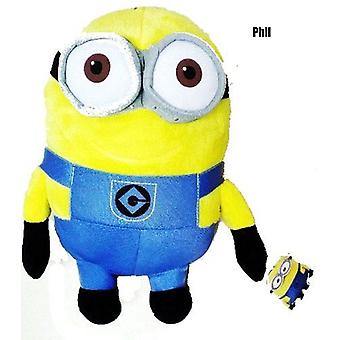 Despicable Me 2 - 28cm Plush Minion Phil 2 Eyes Smiling