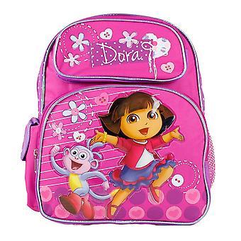 Small Backpack - Dora the Explorer - Jump w/Boots School Bag New 639792