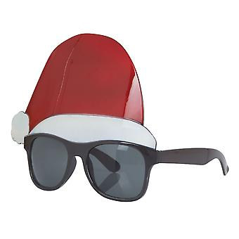 Бристоль Новинка Unisex Взрослые Санта-Шляпа очки