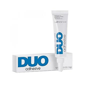 Duo Strip Eyelash Clear Drying Firm Hold Long Lasting Adhesive Glue 14g