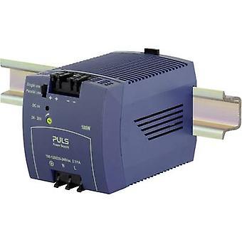 PULS MiniLine ML100.100 Rail mounted PSU (DIN) 24 V DC 4.2 A 100 W 1 x