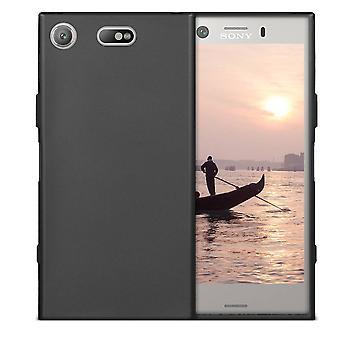 Sony XZ 1 kotelo musta - matto