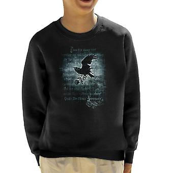 Alchemy Nevermore Kid's Sweatshirt
