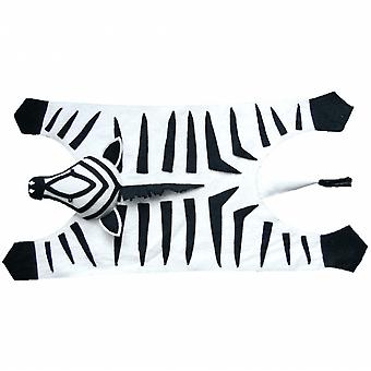 Fiona Walker England Zebra Felt Animal Rug