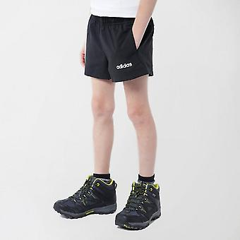 New adidas Kid's Essential Plain Chelsea Short Black