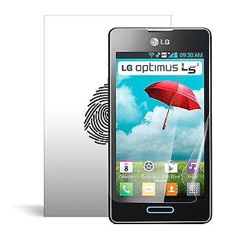 Celicious Vivid plus milde Anti-Glare Screen Protector film compatibel met LG Optimus L5 II [Pack van 2]