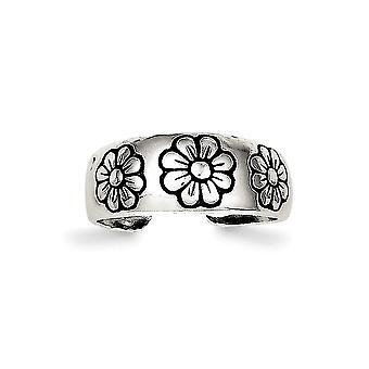 925 Sterling Silber solid poliert Zehen Ring Schmuck Geschenke für Frauen