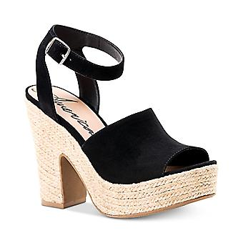 American Rag Womens Fey Fabric Peep Toe Ankle Strap D-orsay Pompes