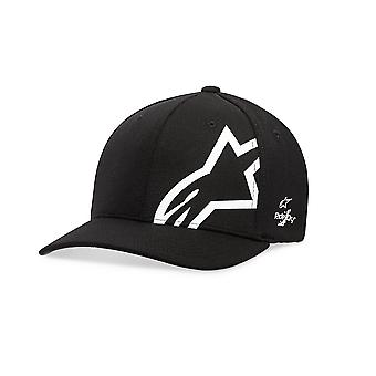 Alpinestars Mens Sonic Tech Curve Cap ~ Corp Shift black/white