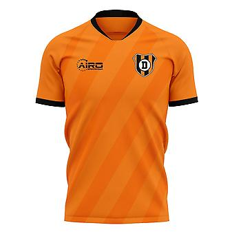 2019-2020 Dundee United Home Concept Football Shirt - Womens