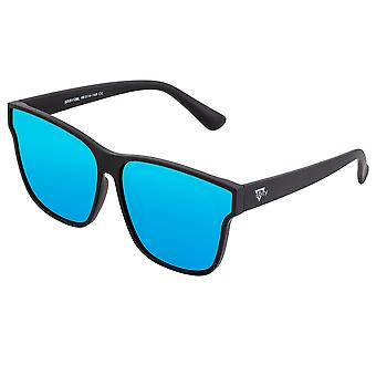 Sixty One Delos Polarized Sunglasses - Black/Blue