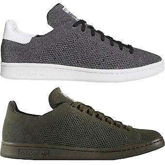 adidas Originals Uomo Stan Smith Primeknit Pizzo Up Casual Trainers Sneakers