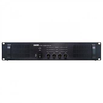 Clever akustik Sl4060 100V 4 X 60W slave forstærker