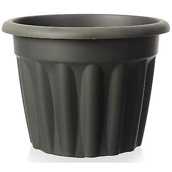 Wham Lagerung 25cm Vista Extra kleine runde Kunststoff-Pflanzentopf