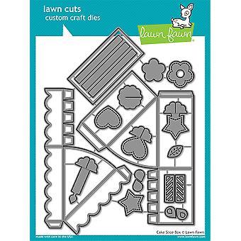 Lawn Cuts Custom Craft Die-Cake Slice Box