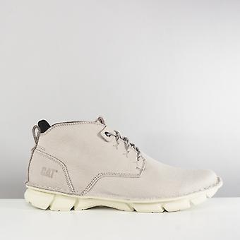 CAT Lifestyle Almanac Mens Nubuck Ankle Boots Silver