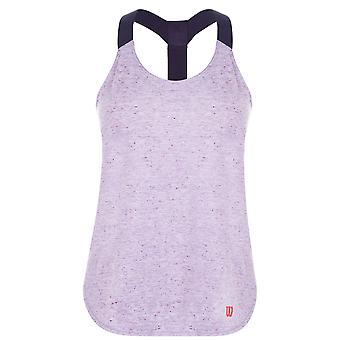 Wilson Womens damer Vignette Crew Neck sport Workout linne ärmlös väst