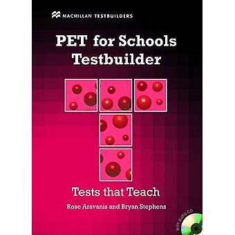 PET for Schools Testbuilder Students Book with key  CD Pac by Rose Aravanis