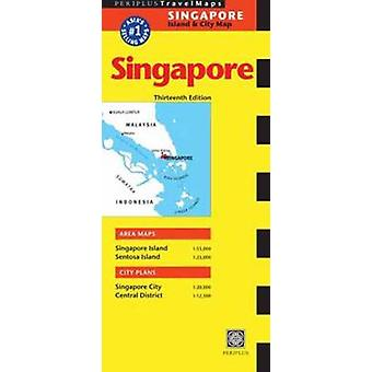 Singapore Travel Map by Periplus Editions