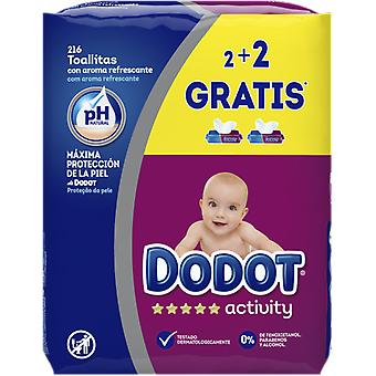Dodot Activity Baby Wipes 216 Units (Baby & Toddler , Diapering , Baby Wipes)