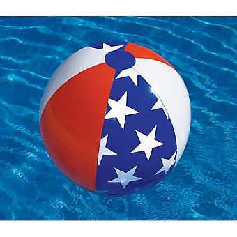 "Swimline 90016 24"" Americana Series Beach Ball"