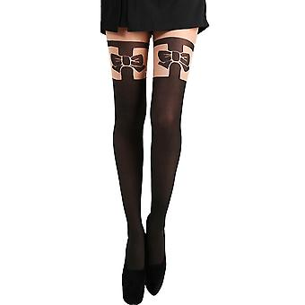 Pamela Mann Bow Over The Knee Tights - Hosiery Outlet