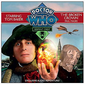 Doctor Who Serpent Crest 2 The Broken C by Magrs & Paul