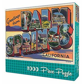 Greetings From Palm Springs Puzzle by Gibbs & Smith