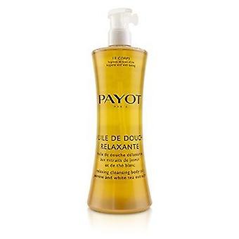 Payot Huile De Douche Relaxante Relajante Cleansing Body Oil With Jasmine & Extractos de té blanco 400ml/13.5oz