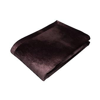 Corredor de tabela de veludo esmagado roxo da beringela brilhante